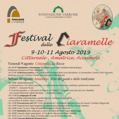 Festival Ciaramelle - Agosto 2019