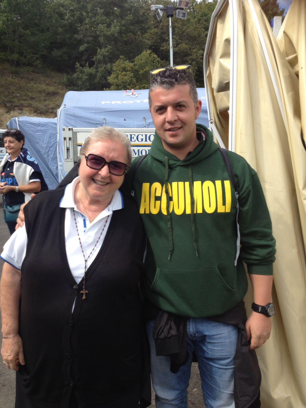 Suor Paola - Campo tenda Accumoli