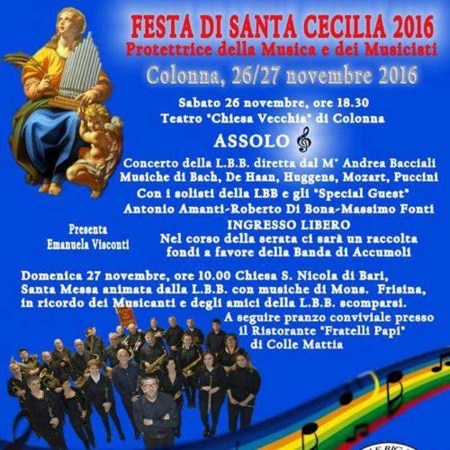 Banda di Accumoli - 26-27 Novembre