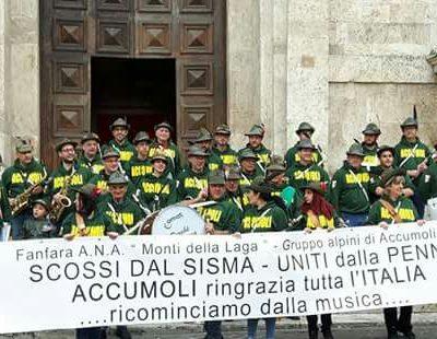 La banda di Accumoli - Ascoli Piceno