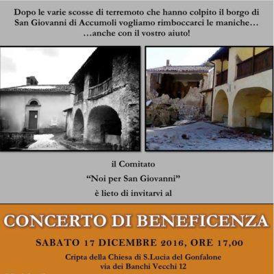 San Giovanni di Accumoli - 17 Dicembre