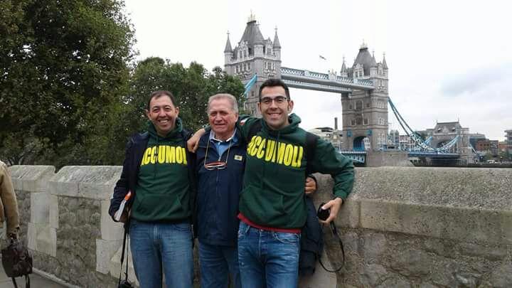 Emiliano, Cesare ed Idolo - Londra