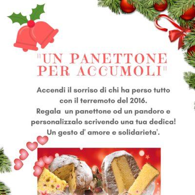 Panettori per Accumoli Natale 2017