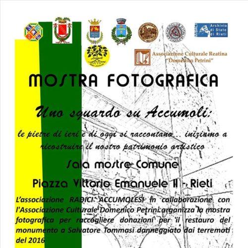 Mostra Fotografica Rieti 18 gennaio 2018