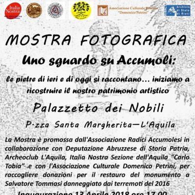 Mostra fotografica L'Aquila 13 Aprile
