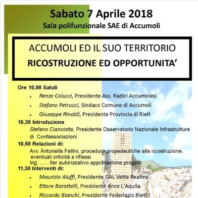 Convegno tecnico 5 Maggio 2018