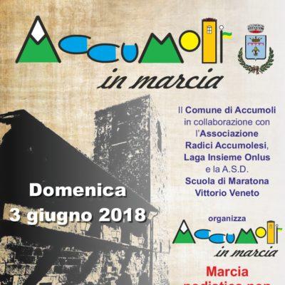 Accumoli in Marcia 2/3 Giugno 2018